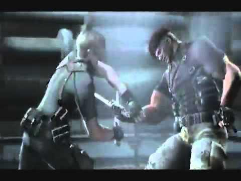 Resident Evil 4 Битва на ножах Леон Скотт Кеннеди и Джек Краузер