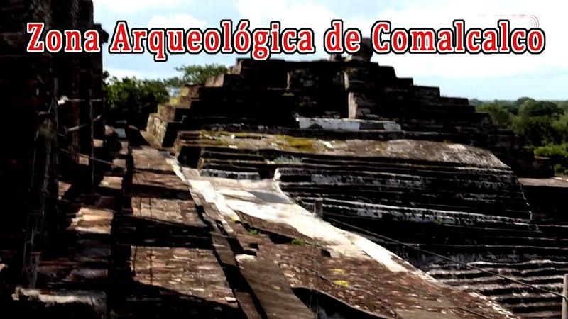 Zona arqueológica de Comalcalco, Tabasco Villahermosa México esculturas de hallazgos arqueológicos