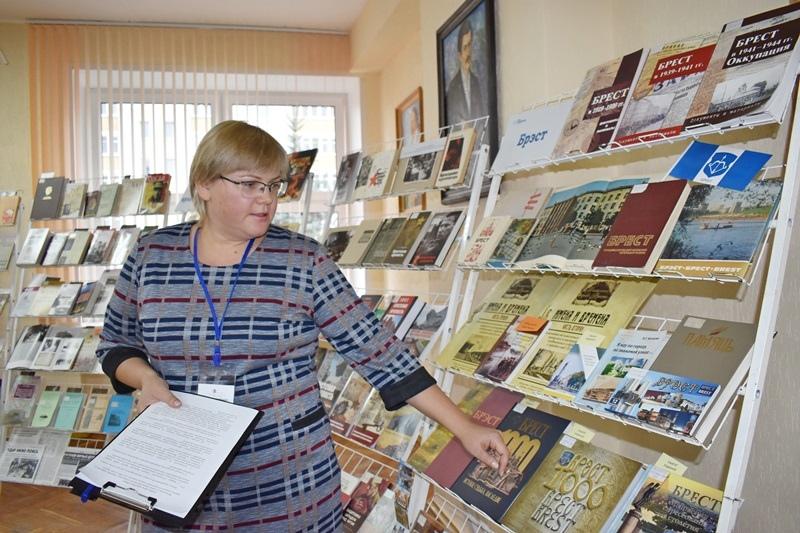 В Брестской областной библиотеке им.Горького состоялась лекция «Брестская крепость»