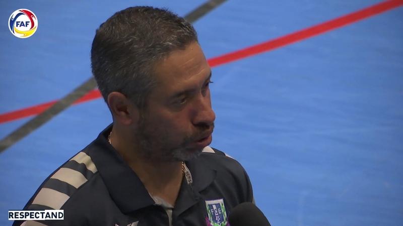 ELS PROTAGONISTES Saviola Millor Jugador i Moi Entrenador del Sideco FC Encamp