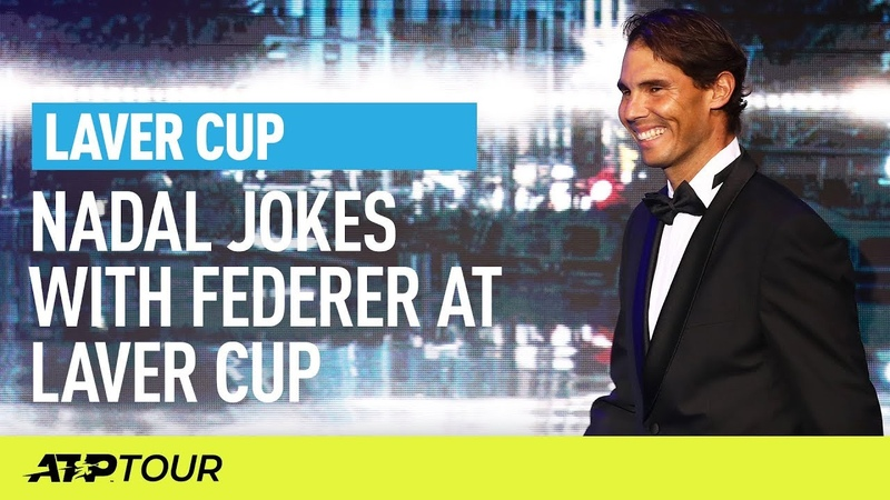 Nadal On Federer The Most Unknown Player Here. 🤣 | Laver Cup | ATP