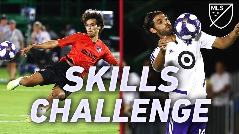 All Star Skills Challenge 2019 Joao Felix Vela Rooney Nani and More