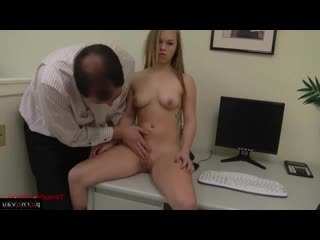 Madison Chandler [ In the office &  Group / With the plot, Shaved, Linen, Body piercing, Pussy, Cunnilingus]