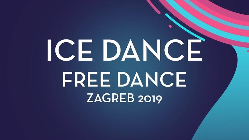 Emmy Bronsard Aissa Bouaraguia CAN Ice Dance Free Dance Zagreb 2019