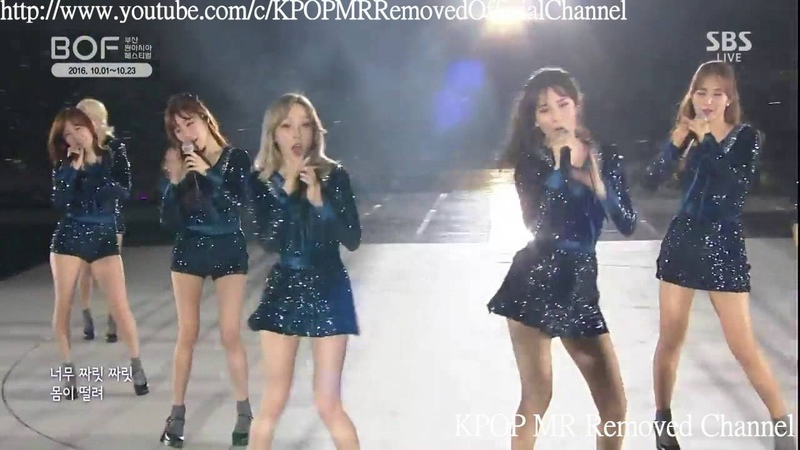 [MR Removed] 161001 Girls' Generation (SNSD) - Gee (지) (Busan One Asia Festival)
