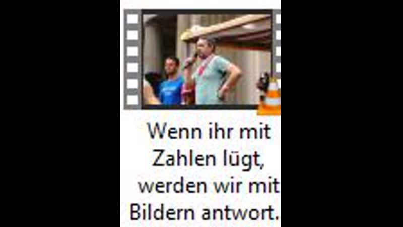 Wenn ihr mit Zahlen lügt werden wir mit Bildern antworten Markus Haintz Ralf Ludwig in Berlin