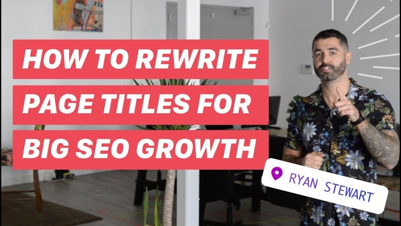 How to RANK Quickly w/ Page Titles (SEO HACK)