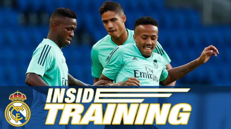 Training in Paris! | PSG vs Real Madrid (Champions League)