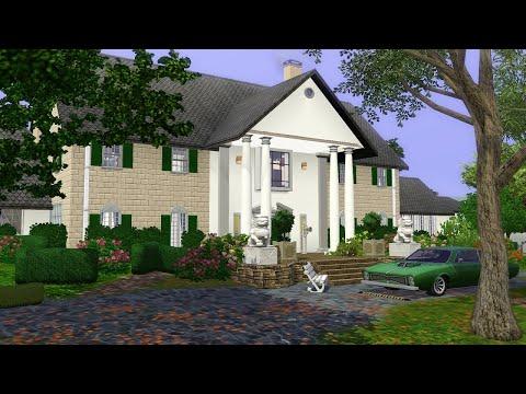 The Sims 3 Экскурсия по дому музею Элвиса Пресли имению Грейсленд