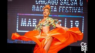 Delia Madera - Show | Chicago Salsa & Bachata Festival 2019