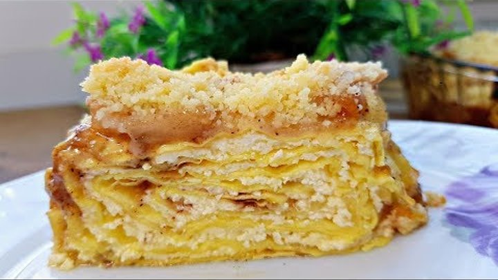 Почему ИЗ ТВОРОГА я не готовила такое раньше Лучший Пирог Без Возни с Тестом Пирог с Тыквой