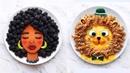 Дивовижні картини з їжі від українки Дарини Косар