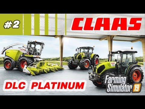 Farming Simulator 19 ⁂ Техника CLAAS, DLC Platinum, стрим2