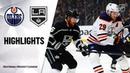 Edmonton Oilers vs Los Angeles Kings | Nov.21, 2019 | Game Highlights | NHL 2019 20 | Обзор матча