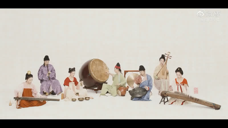 Китайская одиссея цитра Х чжэн Х ханг Х флейта и сяо Х лютня Х барабан адаптированная музыка семь видов инструментов