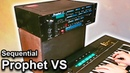 Sequential Circuits PROPHET VS - Ambient Chillout Music   Synth Demo