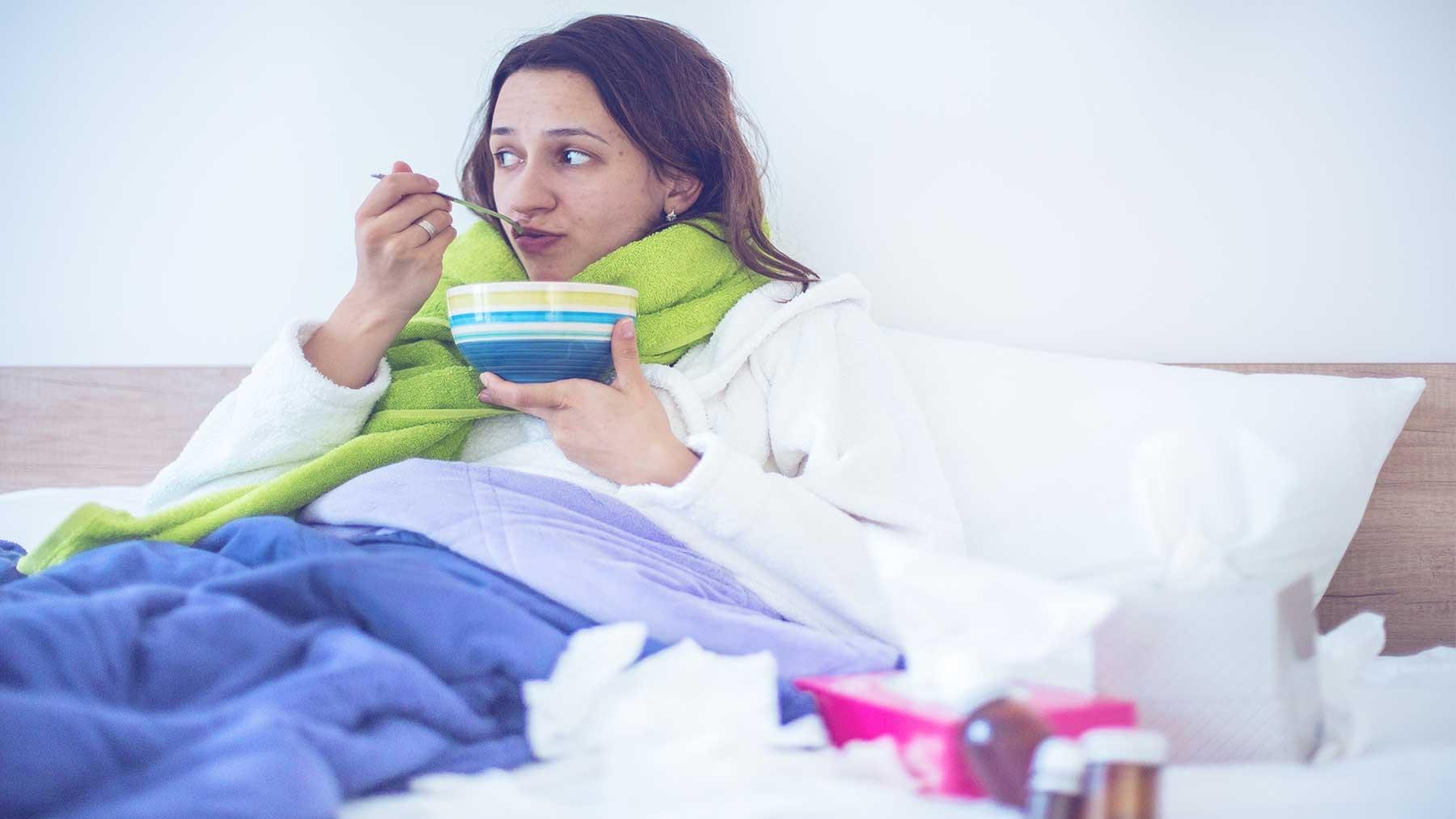 Что не стоит есть и пить во время гриппа, чтобы выздороветь быстрее