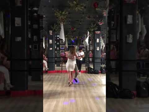 Joana Machado and Nikita Koltsov Kizomba @ Adornos Dance Studio Flamingo Kizz party 15.6.19