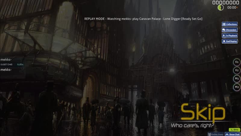 Caravan Palace - Lone Digger [Ready Set Go] 2*miss 94.19% 53