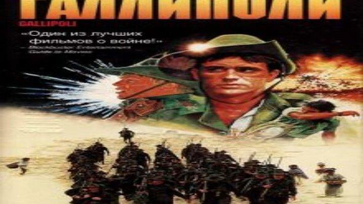 Галлиполи 1981 драма приключения военный история Австралия Питер Уир Мэл Гибсон Марк Ли Билл Керр Харольд Хопкинс