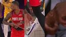Damian Lillard NASTY Injury   Lakers vs Blazers Game 2
