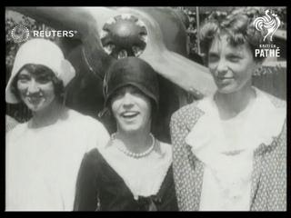 TRANSPORT: Aviation: Female pilots (1929)