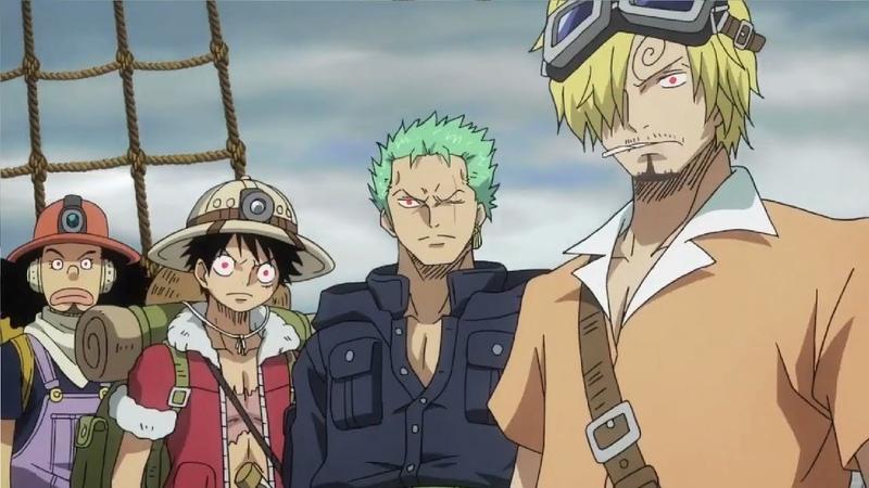 One Piece Luffy Zoro Sanji Usopp's Observation Haki English Dub
