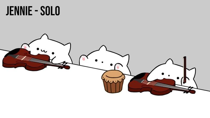 Bongo Cat - JENNIE SOLO (K-POP)