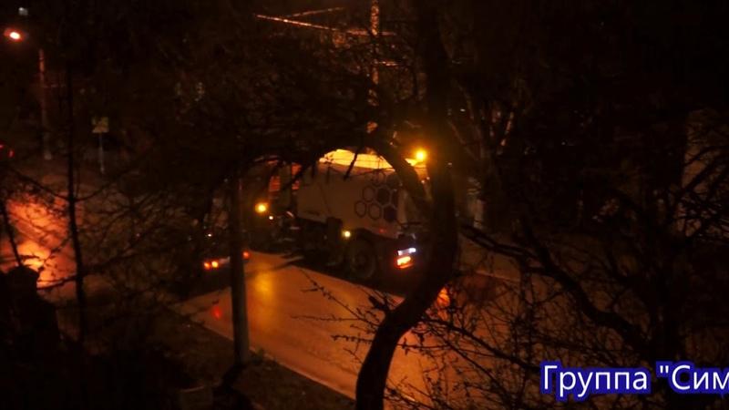 Уборка улицы Русской