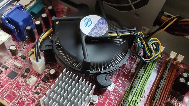 Системный блок intel core 2 quad q9550 / 4Gb / 250Gb / AMD Radeon R7 240 2gb | Обзор