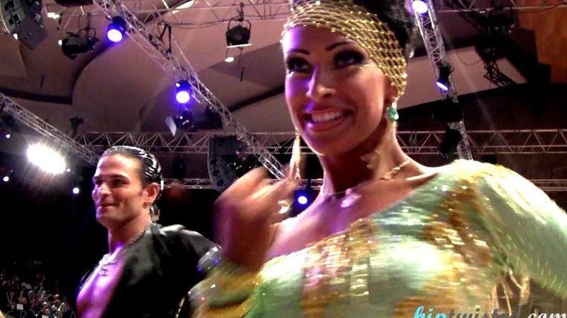 Nino Langella - Kristina Moshenskaya, GOC Stuttgart 2013, WDSF Grand Slam latin, 5. round - rumba