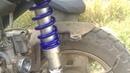 Тюнинг Honda Dio 35 ставим масляный амартизатор NDT