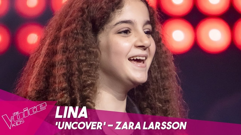 Lina - Uncover | Blind Auditions | The Voice Kids Belgique