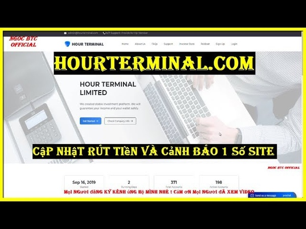 Hourterminal.com - Hyip Paying | Cập Nhật Rút Tiền Và Cảnh Báo