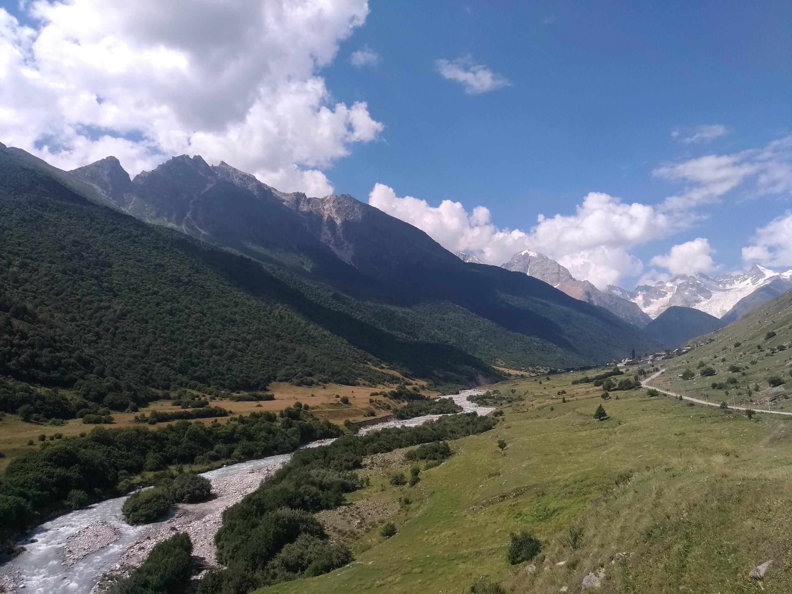 27-28 июля 2019 Водопады Осетии   пешеходный тур