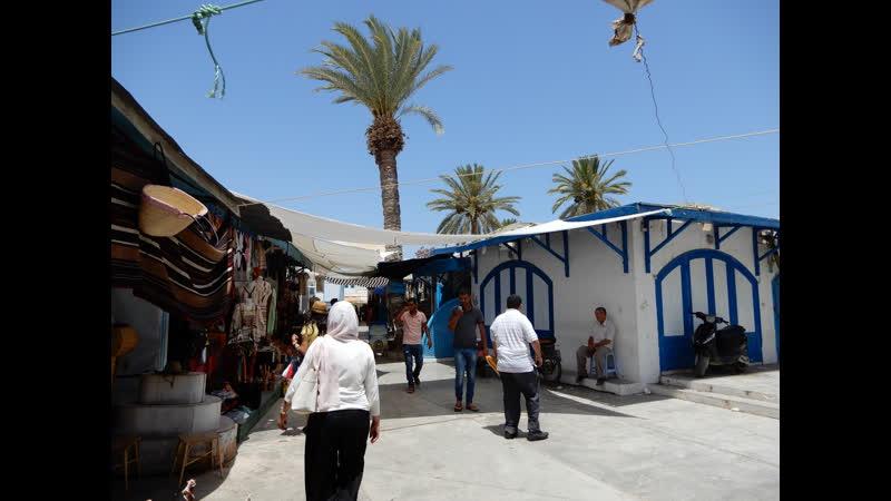 Тунис, остров Джерба. Первый взгляд на город и окрестности. 4.Djerba