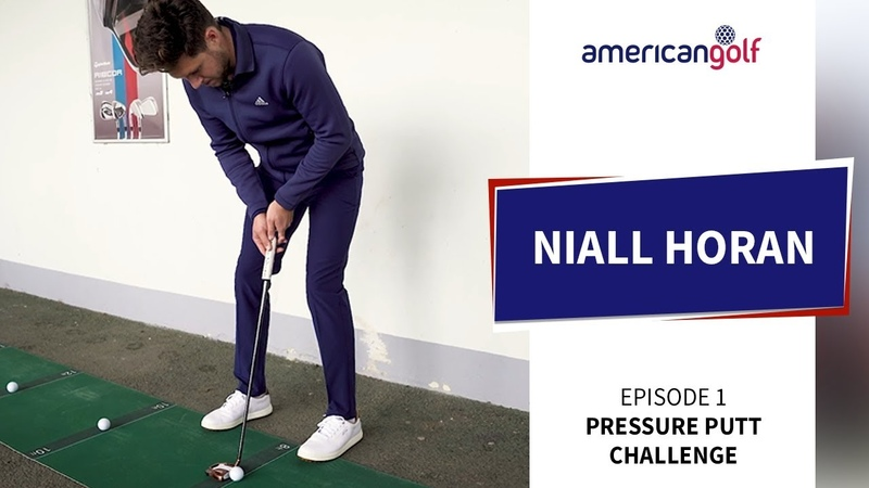 NIALL HORAN TAKES ON THE AG PRESSURE PUTT CHALLENGE | American Golf