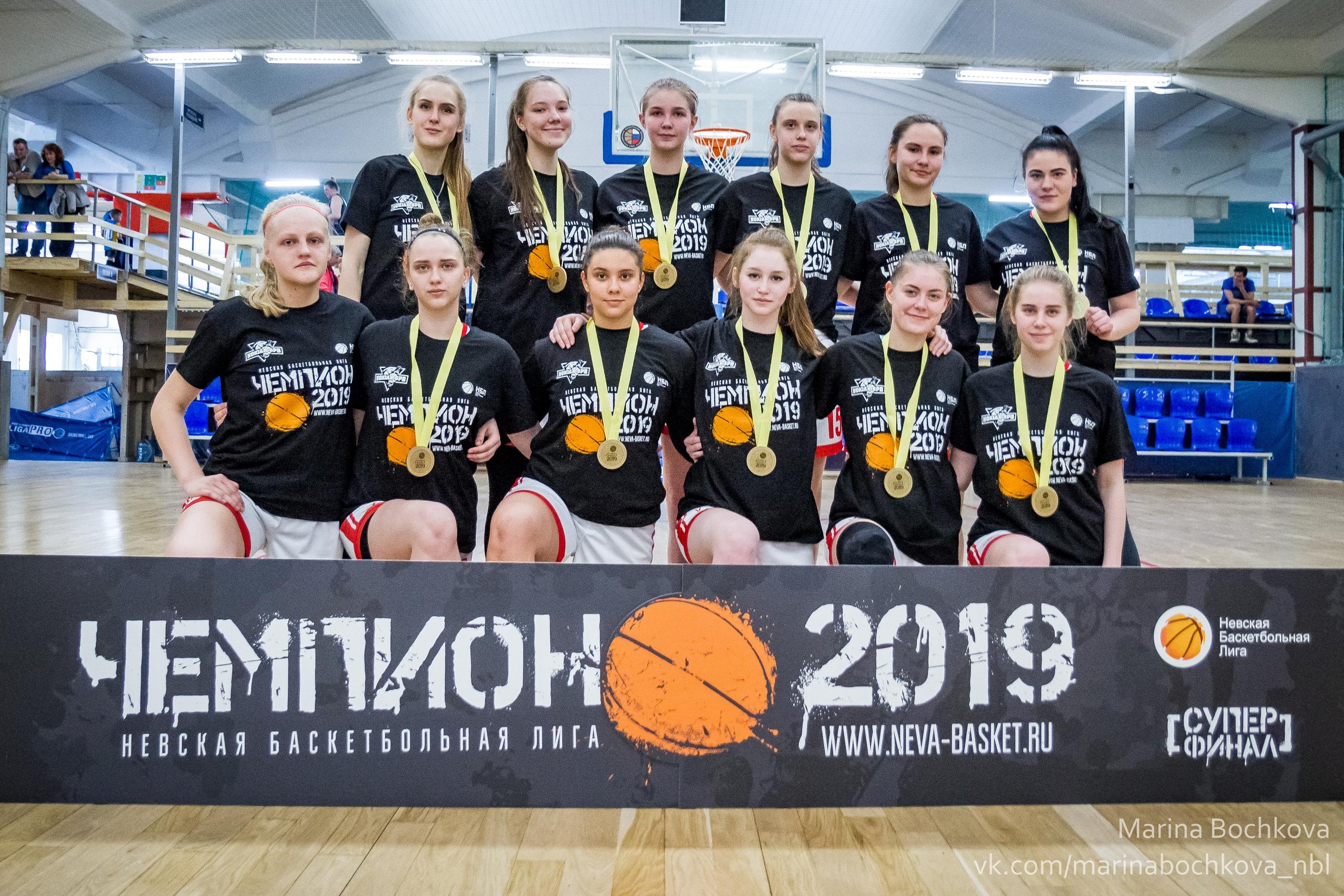 Чемпион НБЛ среди женских команд сезона 2018-2019