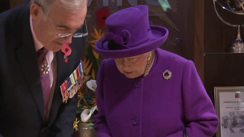Queen Marks Centenary of Royal British Legion Industries