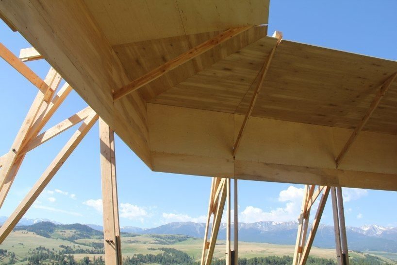 ARUP and gunnstock finalize tiara bandshell at tippet rise