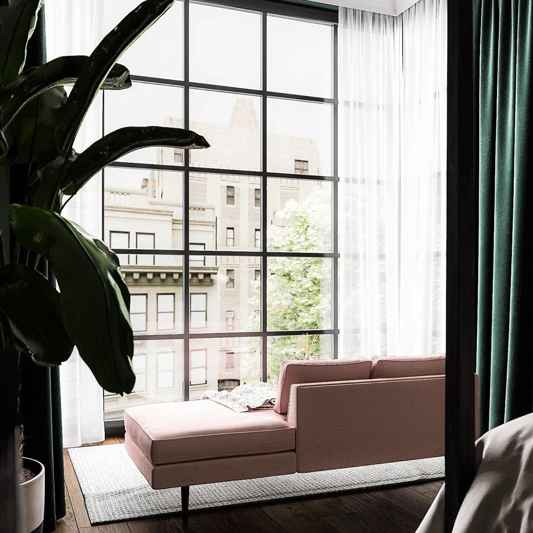 Красивый проект спальни от yanasdecor