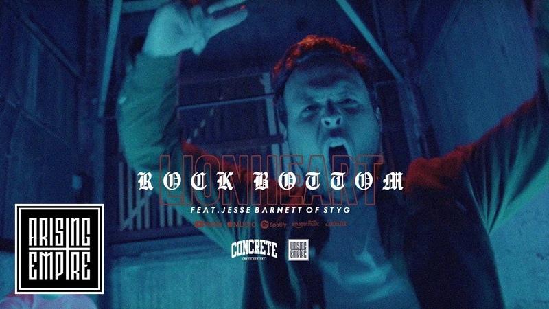LIONHEART - Rock Bottom feat. Jesse Barnett [STICK TO YOUR GUNS] (OFFICIAL VIDEO)