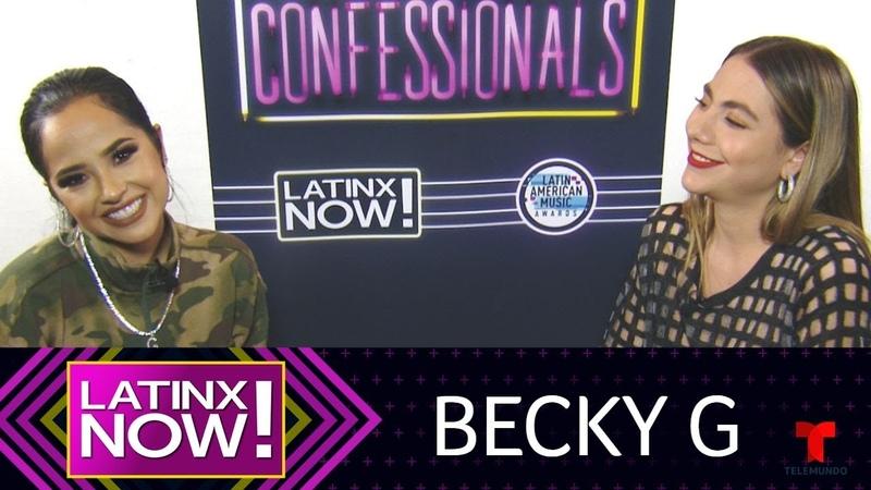 Entrevista exclusiva: Becky G nos cuenta que J.Lo es su 'role model' | Latinx Now! | Entretenimiento