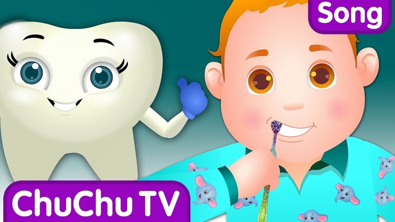Brush Your Teeth Song | Good Habits Nursery Rhymes For Children | ChuChu TV