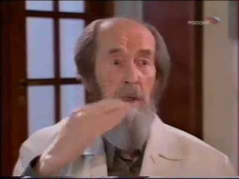 Сбережение народа Одно из последних интервью А И Солженицына