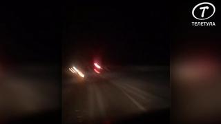Под Тулой столкнулись Hyundai и автобус ПАЗ: водитель иномарки погиб
