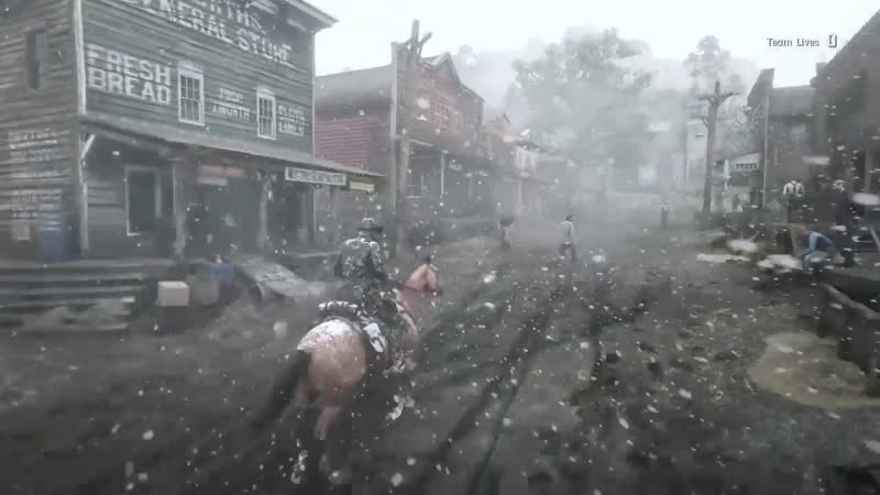 Red Dead Online — Snow in Valentine and the Heartlands. I hope we get snow in free roam this Christmas!