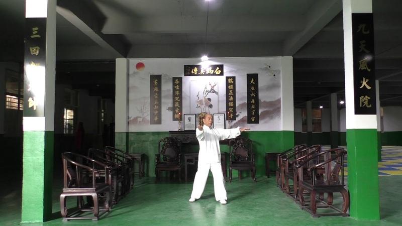 Ю Шифу Минхэ Цюань таолу Папурен декабря 2019г.(Yu Shifu Minghe Quan taolu Papuren December 2019)