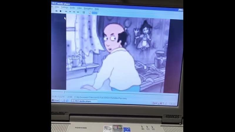 Доктор Катц в разрешении 95p на Windows 98