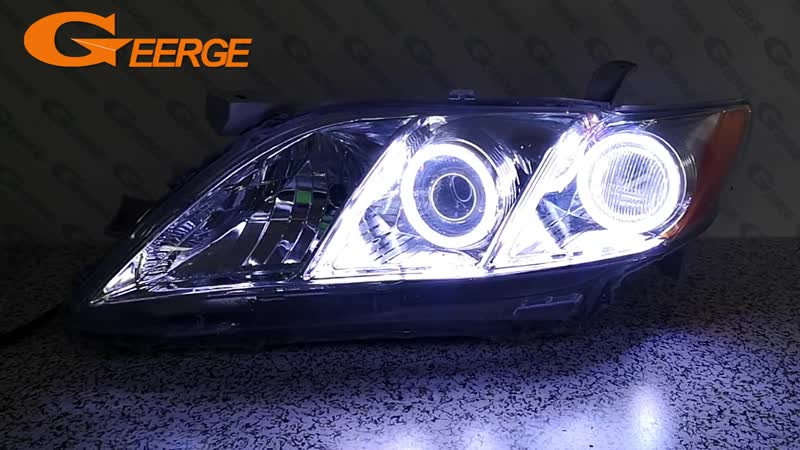 For Toyota Camry XV40 pre-facelift 2006 2007 2008 2009 Excellent angel eyes Ultra bright illumination COB led angel eyes kit